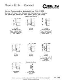Trapezoidal Muntin ...  sc 1 st  Graham Architectural Products & Muntin Grids | Graham Architectural Products