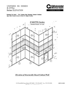 Us8375s Series Unitized Curtain Wall System Graham Architectural