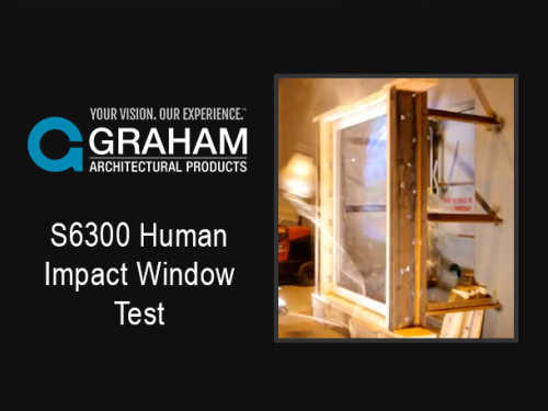 S6300 Human Impact Window Test