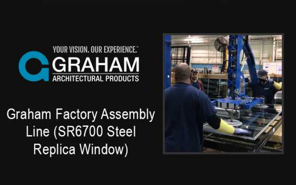 Graham Factory Assembly Line (SR6700 Steel Replica Window)
